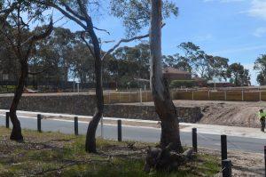 treated pine, garden retaining wall, diy retaining wall, steel posts, retaining wall sleepers, retaining wall blocks, retaining walls geelong, galvanized post