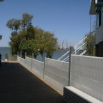 concrete sleepers; retaining wall; galvanised post, retaining wall, galvanised post, steel post prices, steel posts Melbourne