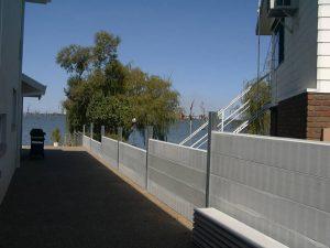 concrete sleepers; retaining wall; galvanised post, retaining wall, galvanised post, steel post prices, steel posts Melbourne