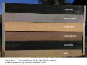 retaining wall sleepers, retaining wall blocks, retaining walls geelong, galvanized post