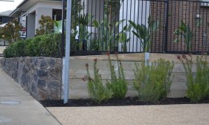 garden retaining walls, galvanised post, steel posts Melbourne, retaining wall, galvanised post, steel post prices, steel posts Melbourne, retaining wall ideas, retaining walls, star picket melbourne region, concrete sleepers home garden building materials