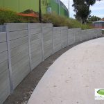 garden retaining wall, steel posts, galvanized post, retaining wall, galvanised post, steel post prices, steel posts Melbourne